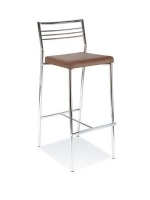 Scaun de bar Caldo Hocker chrome