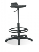 Scaun de bar specializat Worker ts02+ ring base